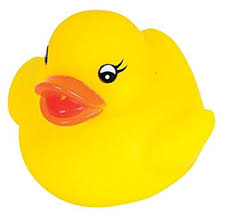 novelty place float squeak rubber duck ducky baby