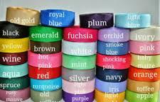 grosgrain ribbon wholesale grosgrain ribbons ribboncraft 5 8 width ebay