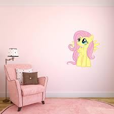 fluttershy my little pony full color wall sticker decal bedroom fluttershy my little pony full color wall sticker decal bedroom horse art