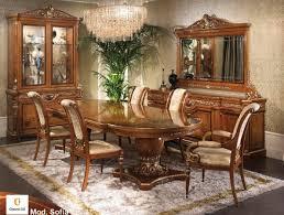 Esszimmer Zeus Klassische Möbel Für Esszimmer Klassisch Eingelegten Tisch