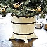 Decorative Artificial Christmas Tree Stand by Rustic Christmas Decorations Popsugar Home
