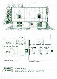 2 bedroom cabin floor plans awesome 16 x 40 2 bedroom house plans wide story cottage w loft best small cabin floor plans 16 x 24 2