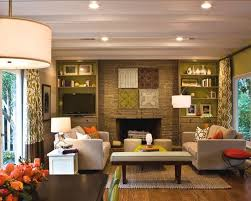 Modern Mid Century Modern Ranch Style House Design Pictures - Modern family rooms