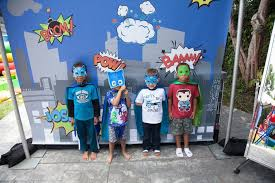 party details pj masks superhero birthday party kara u0027s