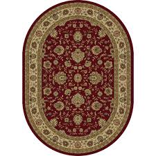 Area Rugs Manchester Nh by Tayse Rugs Sensation Ivory 6 Ft 7 In X 9 Ft 6 In Traditional