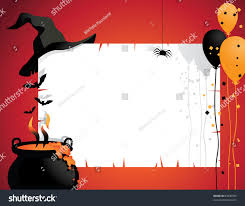 vectorof fall halloween background clip art free halloween witch background witchs hat cauldron stock vector