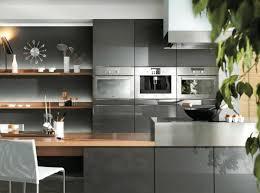 cuisine gris foncé meuble de cuisine gris anthracite meuble haut cuisine gris