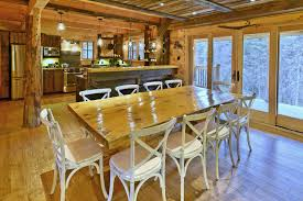 Salle A Manger Design But by Deluxe Log Cabin For Rent In Canada Near Quebec City Le Big Foot