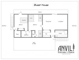 avr guest house floorplan plans modern southern living square feet