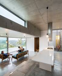 Harmony In Interior Design Gateira Concrete House Designed In Harmony With Dramatic Landscape