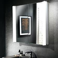 mirrored bathroom cabinets with shaver point mirrored bathroom cabinet with lights northlight co