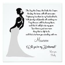 bridesmaid card wording custom wedding engagement party invitation cards uk