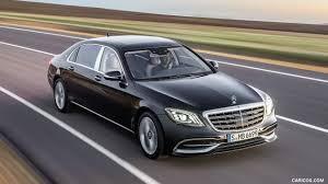 2018 mercedes maybach s class s650 black front three quarter