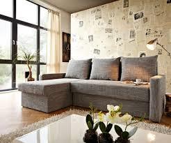ecksofa mit ottomane ecksofa mit bettfunktion braun couch loana weiss grau 275x185 cm