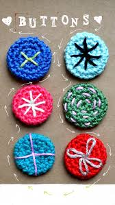 67 best crochet buttons images on pinterest crochet buttons