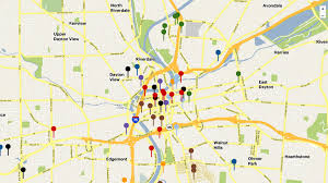 Map Of Dayton Ohio Dayton Business Journal Project Watch What U0027s Going Up In Downtown