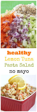 pasta salad with mayo lemon tuna pasta salad created by diane