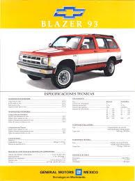 1993 chevrolet blazer avalier u0026 z24 flyer