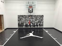 Indoor Recreation SnapSports Home Gyms  Courts Indoor - Home basketball court design