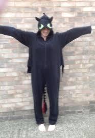 Toothless Dragon Halloween Costume Black Dragon Onesies Seasons Seasons