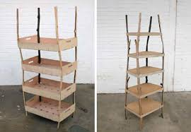 Natural Wood Bookcases Wood Bookshelves And Bookcases Of The Bizarre