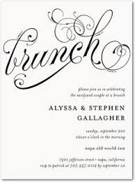 brunch invitation template wedding brunch invitation wording paperinvite