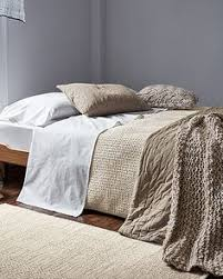 Organic Cotton Duvet Cover Eileen Fisher Waffle Weave Organic Cotton Bedding Collection