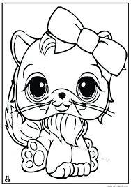 littlest petshop coloring pages free 18