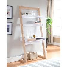 crate and barrel ladder desk leaning desk givgiv