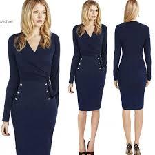 robe bureau pas cher hiver robe femmes travaillent usure robe de bureau