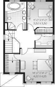 house plans and more halston narrow lot home plan 032d 0295 house plans and more