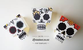 diy day of the dead skulls design is yay