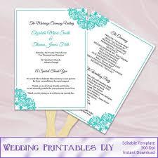 Fan Ceremony Programs The 25 Best Fan Programs Ideas On Pinterest Fan Wedding