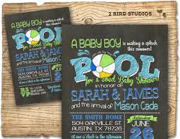 coed baby shower coed baby shower invitation summer baby shower pool