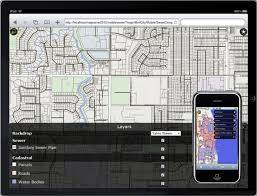 infrastructure map server web based gis mapping software autodesk