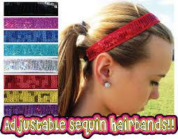 sequin headbands adjustable sequin headbands