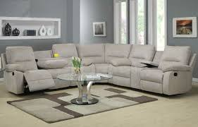 Microfiber Recliner Sofa by Microfiber Reclining Sectional Create So Much Coziness Homesfeed