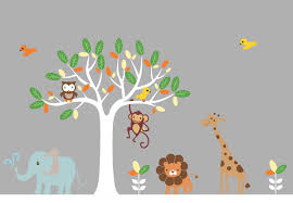wallpapers host2post wallpapers backgrounds kids wall stickers animal art tree decal nursery birds