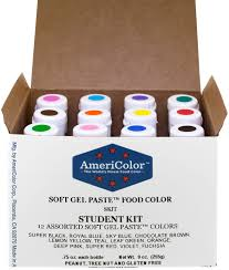 amazon com food coloring americolor student kit 12 75 ounce