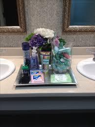 Wedding Guest Bathroom Basket Ideas Bathroom Baskets For Pleasant Guest Bathroom Welcome Realie
