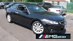 2009 honda accord 3 5 v6 ex l 6 speed coupe youtube