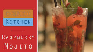 raspberry mojito recipe raspberry mojito drinks kitchen youtube