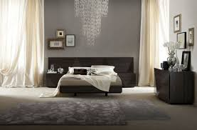 Black Bedroom Furniture Decorating Ideas Lacquered Made In Italy Wood Luxury Platform Bed With Two Tone