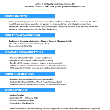 cv formats for graduates sample resume format for fresh graduates two page format with new