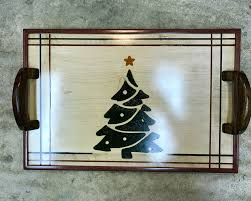 themed serving tray christmas themed serving tray for all seasons by logann