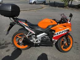 honda cbr 125r 2016 honda cbr 125r repsol learner legal 5 600 miles 17 road