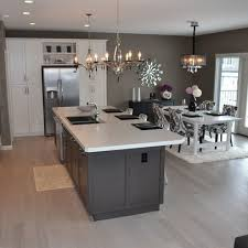 Kitchen Dining Light Fixtures Kitchen Dining Room Combo Layout Light Fixtures Above Island