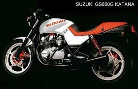 1981 suzuki gs 550 m katana moto zombdrive com