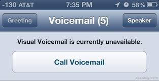 visual voicemail not working android fixing the visual voicemail unavailable error on the iphone