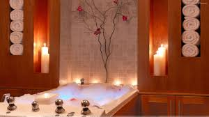 enjoy candle light bath wallpaper